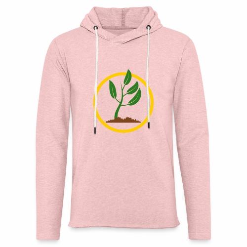 Setzlingemblem - Leichtes Kapuzensweatshirt Unisex