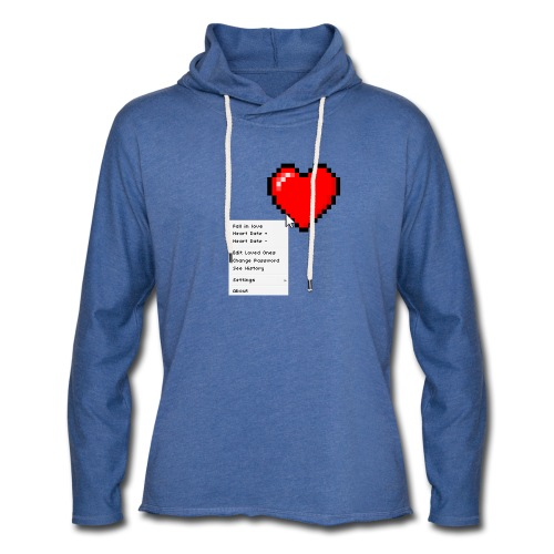Options of the heart - Let sweatshirt med hætte, unisex