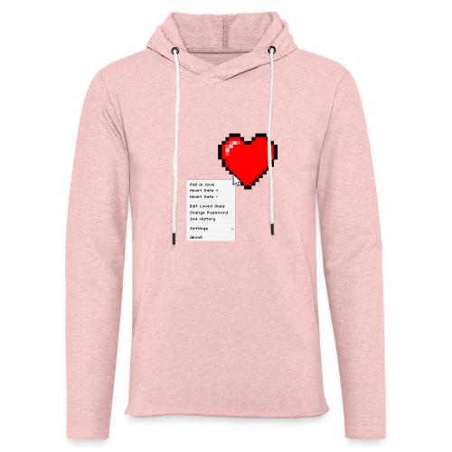Options of the heart - Let sweatshirt med hætte, unisex