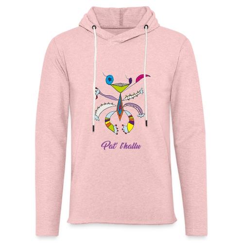 Pat' l'hallu - Sweat-shirt à capuche léger unisexe