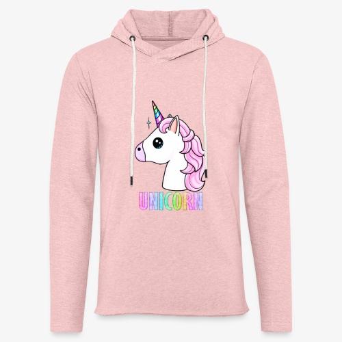 Unicorn - Felpa con cappuccio leggera unisex