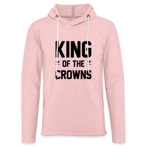 King of the crowns - Lichte hoodie unisex