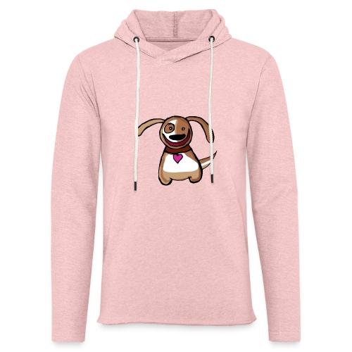 Titou le chien - Sweat-shirt à capuche léger unisexe