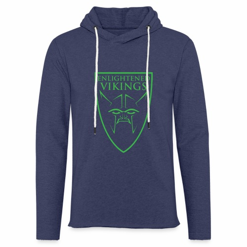 Enlightened Vikings (Org) - Lett unisex hette-sweatshirt