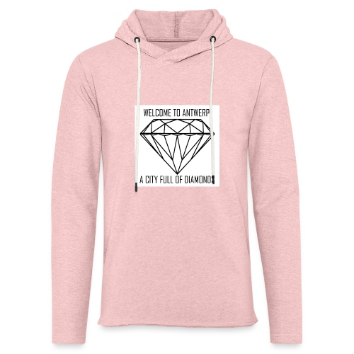 Antwerp lover - Lichte hoodie unisex