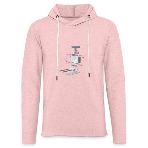 VivoDigitale t-shirt - Blackmagic - Felpa con cappuccio leggera unisex