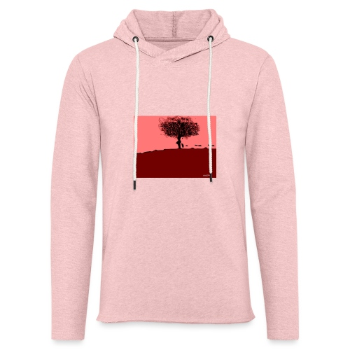 albero_0001-jpg - Felpa con cappuccio leggera unisex