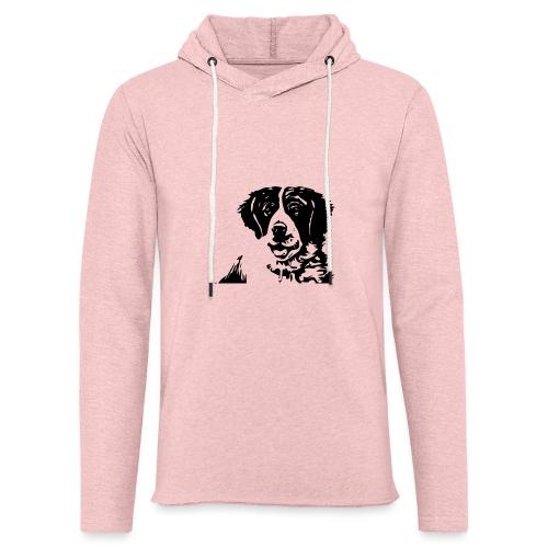 Barry - St-Bernard dog - Leichtes Kapuzensweatshirt Unisex