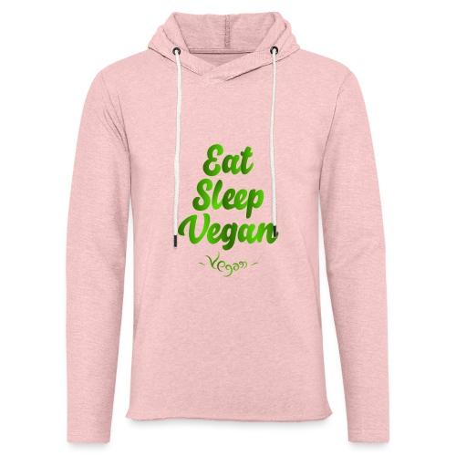 Eat Sleep Vegan - Kevyt unisex-huppari
