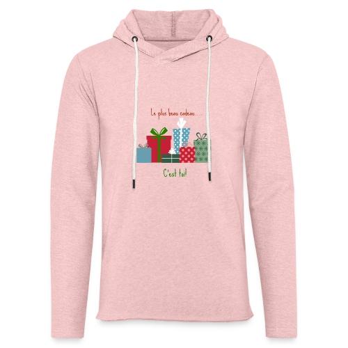 Le plus beau cadeau - Sweat-shirt à capuche léger unisexe