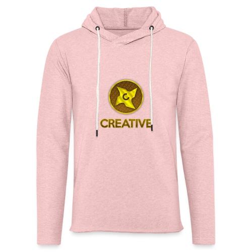 Creative logo shirt - Let sweatshirt med hætte, unisex