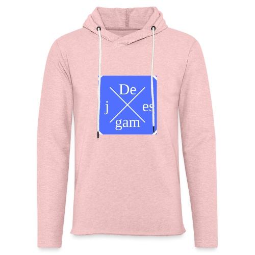 de j games kleren - Lichte hoodie unisex