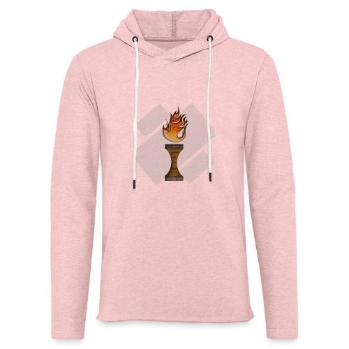 La Flamme de La Ilteam ! - Sweat-shirt à capuche léger unisexe