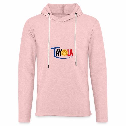 TAYOLA Nouveau logo!!! - Sweat-shirt à capuche léger unisexe
