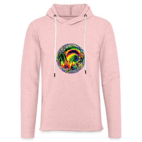 Casque à facettes - Sweat-shirt à capuche léger unisexe