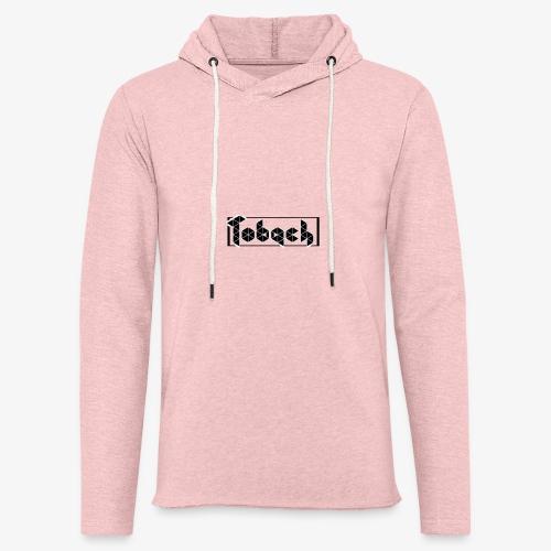 Tobach - Sweat-shirt à capuche léger unisexe