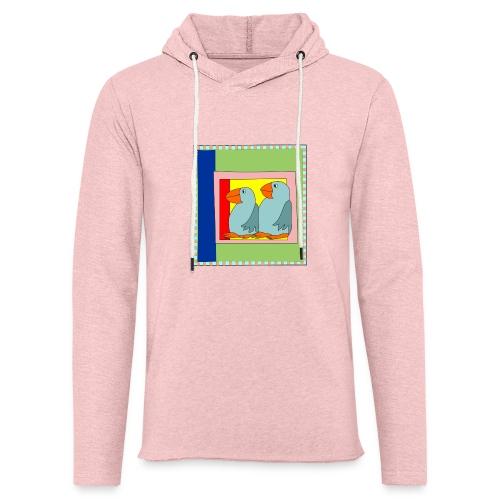 Colorart1 - Felpa con cappuccio leggera unisex