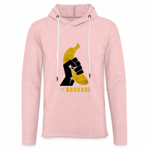Join the Banana - Sweat-shirt à capuche léger unisexe