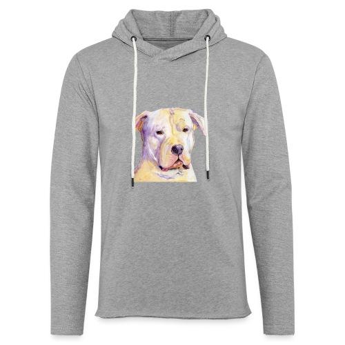 dogo argentino - Let sweatshirt med hætte, unisex