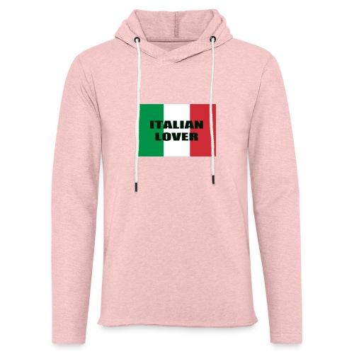ITALIAN LOVER - Felpa con cappuccio leggera unisex
