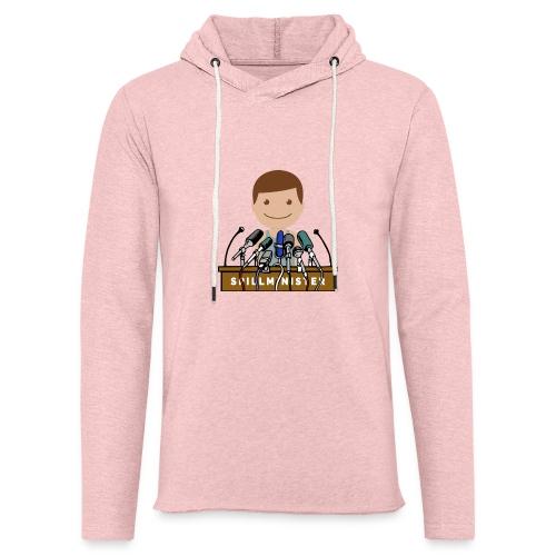 Spillminister logoen - Lett unisex hette-sweatshirt