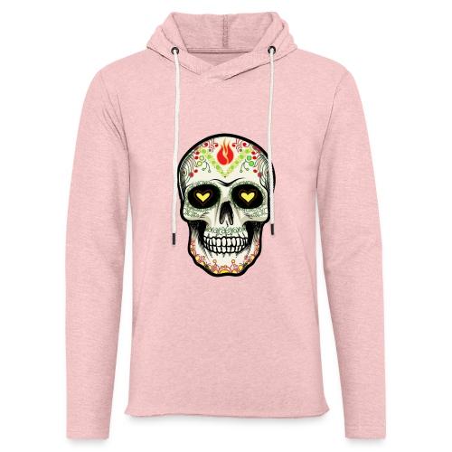 TETE DE MORT 1 - Sweat-shirt à capuche léger unisexe