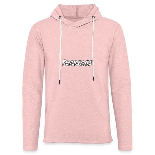 PlayLikeCake orginal - Lett unisex hette-sweatshirt