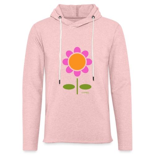 Retro flower - Kevyt unisex-huppari