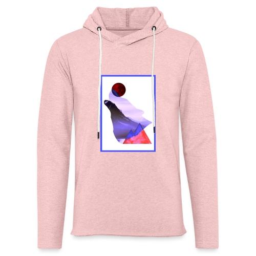 Måne Ulv - Laurids B Design - Let sweatshirt med hætte, unisex