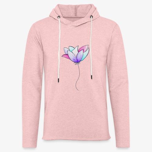 Fleur - Sweat-shirt à capuche léger unisexe