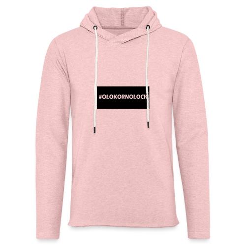 #OLOKORNOLOCK - Lätt luvtröja unisex