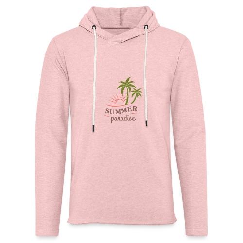 Summer paradise - Light Unisex Sweatshirt Hoodie