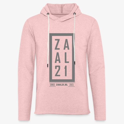 T-SHIRT-BLOK - Lichte hoodie unisex