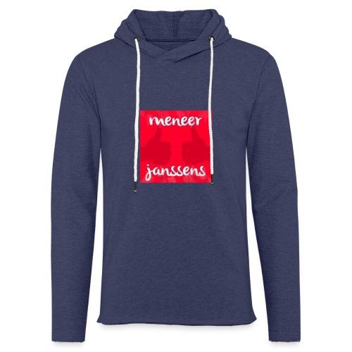 Sweater Meneer Janssens - Lichte hoodie unisex