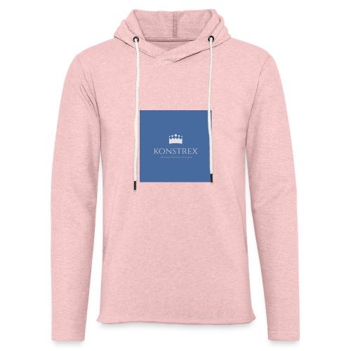 konstrex - Let sweatshirt med hætte, unisex