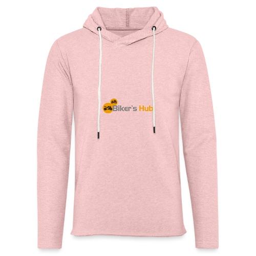 Biker's Hub Logo - Light Unisex Sweatshirt Hoodie