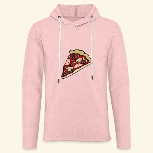 Pizza - Sweat-shirt à capuche léger unisexe