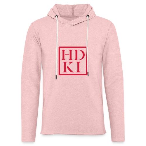 HDKI logo - Light Unisex Sweatshirt Hoodie