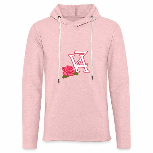 Rose of life - Sweat-shirt à capuche léger unisexe