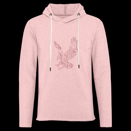 Eagle circuit - Let sweatshirt med hætte, unisex