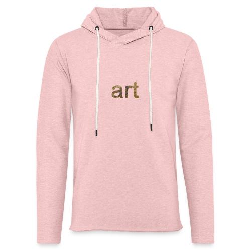 art - Sweat-shirt à capuche léger unisexe