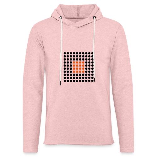 Square Dots - Sudadera ligera unisex con capucha