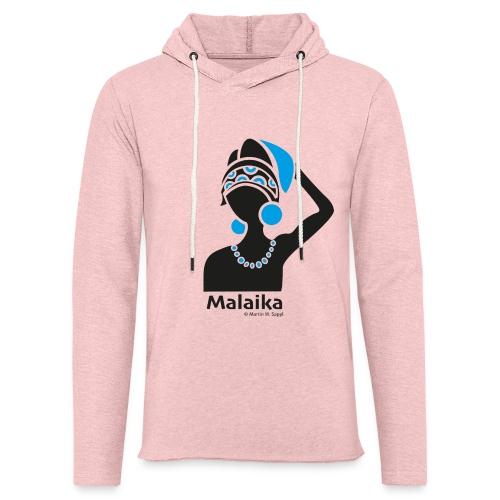 Malaika - Afrika Frau - Leichtes Kapuzensweatshirt Unisex
