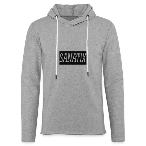 SanatixShirtLogo - Light Unisex Sweatshirt Hoodie