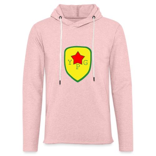 Mens Green YPG Support Tee - Kevyt unisex-huppari