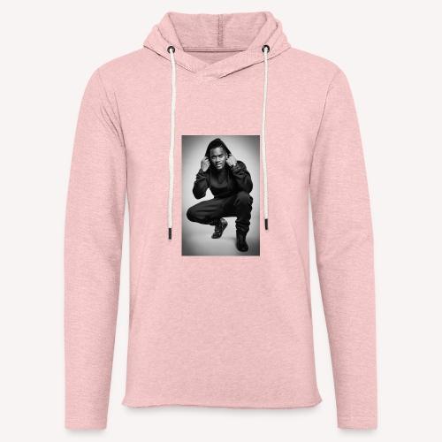Black M - Sweat-shirt à capuche léger unisexe