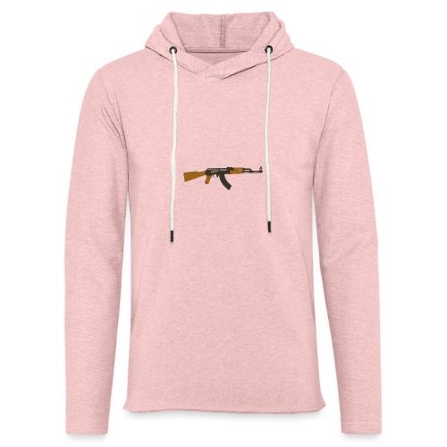 fire-cartoon-gun-bullet-arms-weapon-drawings-png - Lichte hoodie unisex