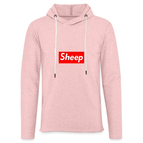 hej - Let sweatshirt med hætte, unisex