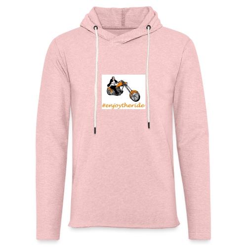 enjoytheride - Sweat-shirt à capuche léger unisexe