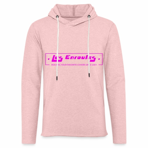 Rocking since 2001! Pink - Sweat-shirt à capuche léger unisexe